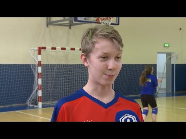Подготовка к Первенству МО по волейболу