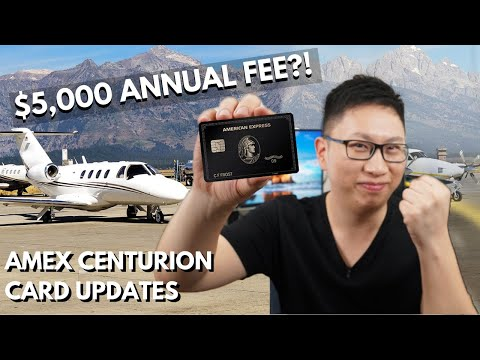 Amex Centurion Card Changes: $5,000 Annual Fee 🤑 Worth It?