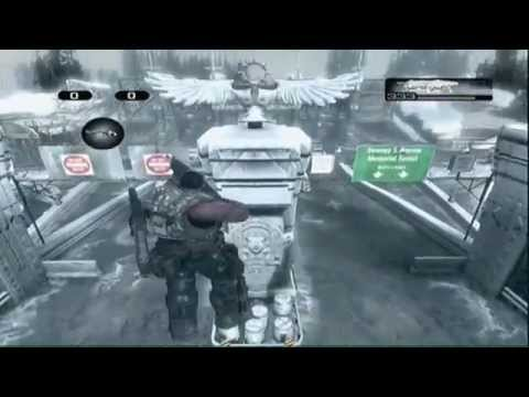 Gears Of War 2 (GoW2)Glitches Jump Up Barrier Breaker 4 Ways Tutorial