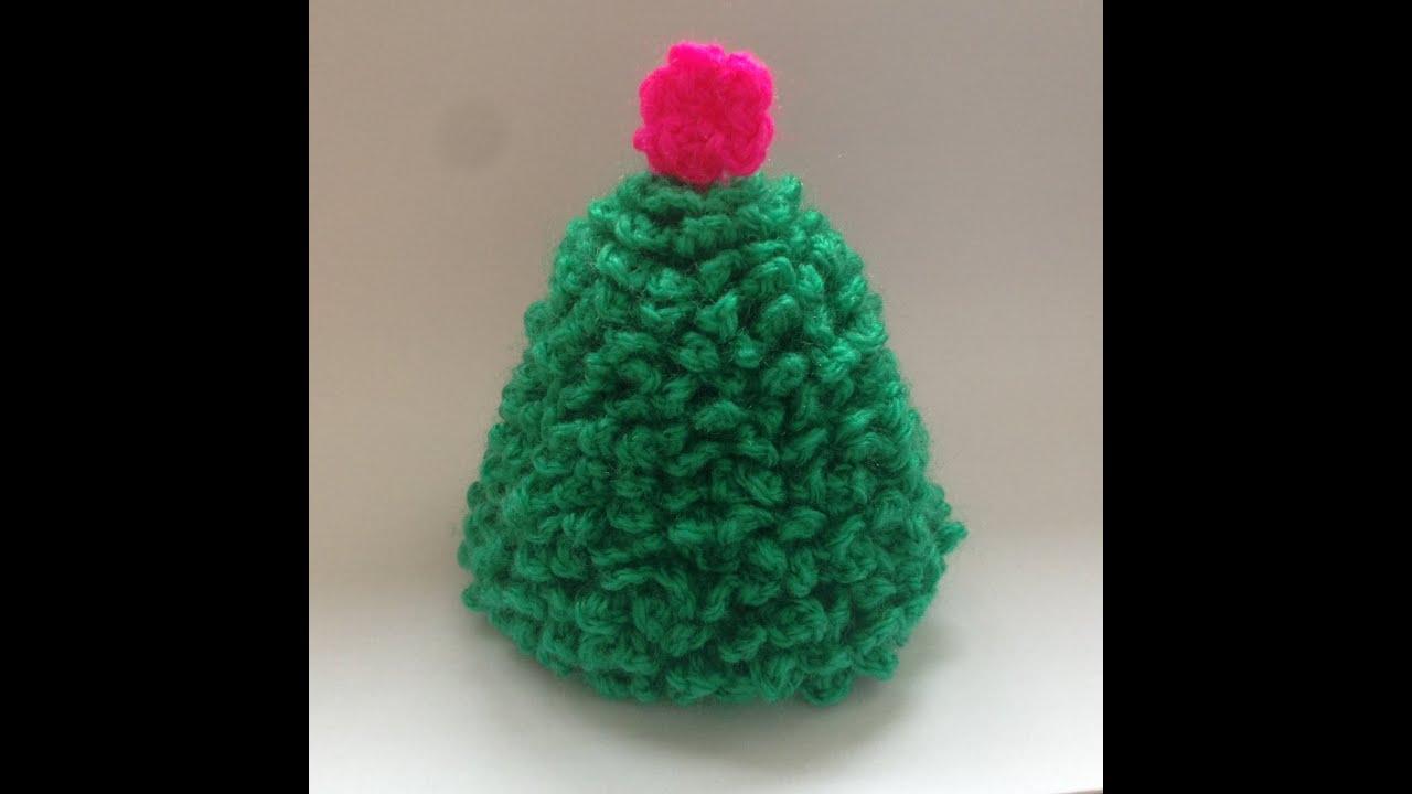 how to crochet small christmas tree youtube