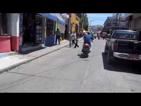 Huehuetenengo Street Scene Travel Video