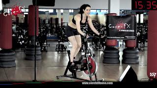 40 minuti di Spinning ! Percorso Brucia Calorie (anche con la cyclette) - CoreFx