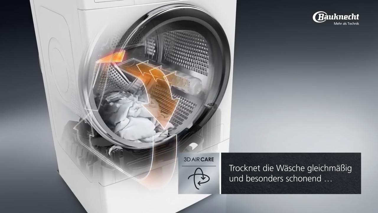 Bauknecht d aircare waschtrockner youtube