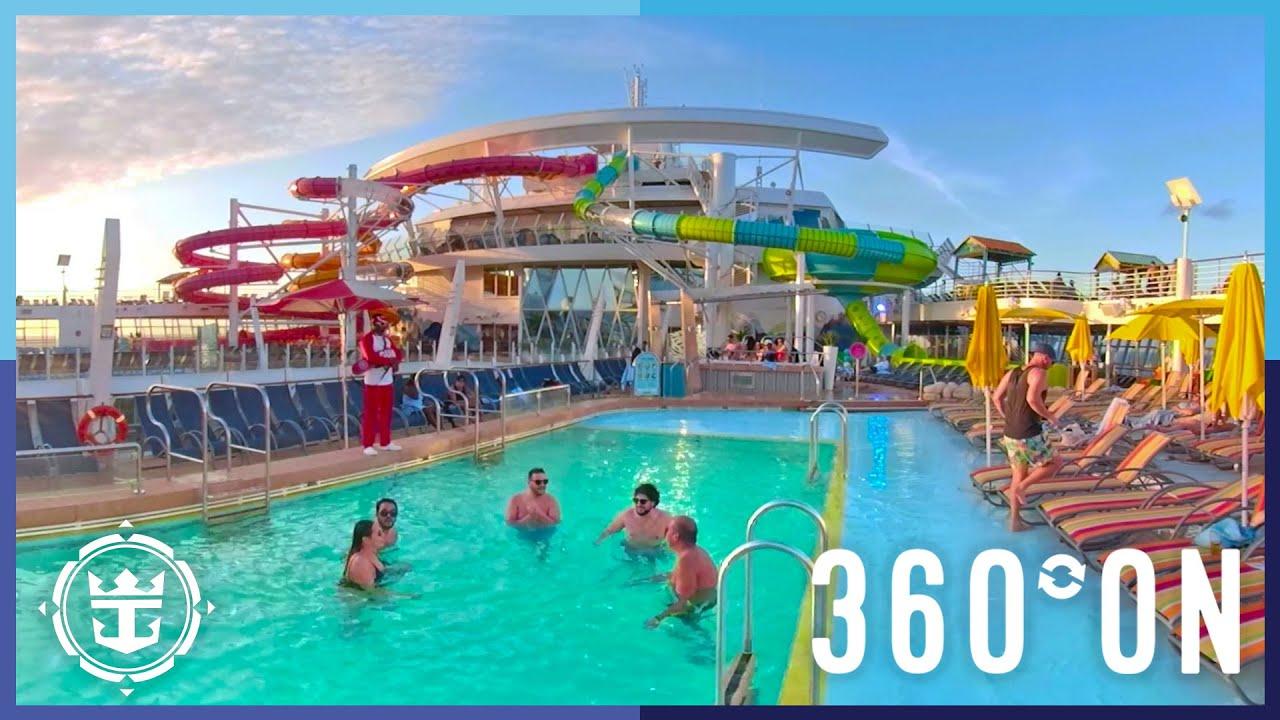 Oasis of the Seas | Amplified Pool Deck in 360º