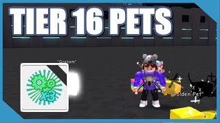 NEW TIER 16 PETS IN ROBLOX PET SIMULATOR *Cyborg Update*