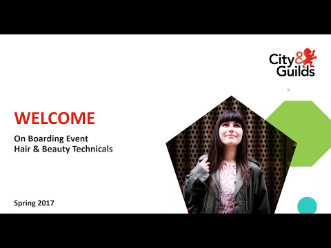 """City & Guilds Hair and Beauty """"New Technicals"""" webinar"""