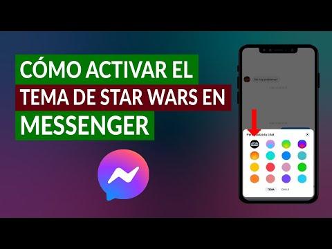 Cómo Activar y Poner el Tema de Star Wars en Messenger Fácilmente