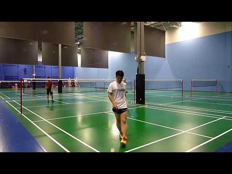 Badminton Game with Richie ~ Badminton Vancouver Court @ 16th Dec 2016