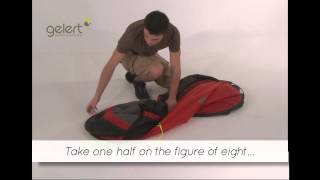 packing the gelert quick pitch ss compact