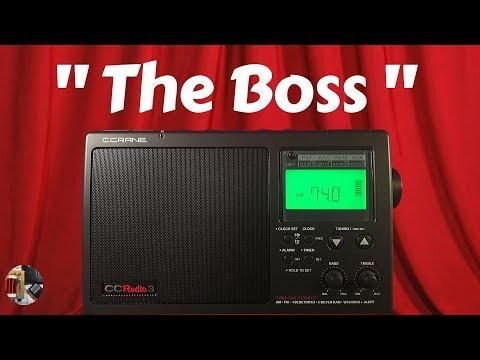 C.Crane CC Radio 3 AM FM WX 2m HAM BT Radio Review