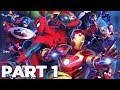 MARVEL ULTIMATE ALLIANCE 3 THE BLACK ORDER Walkthrough Gameplay Part 1 - INTRO (Switch)