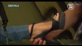 Alessia Fabiani  foot kiss