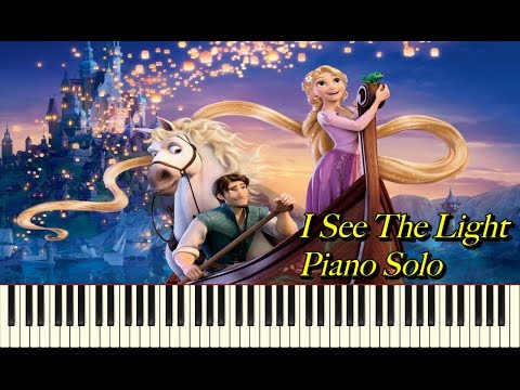 Tangled - I See The Light (Synthesia Piano Solo)
