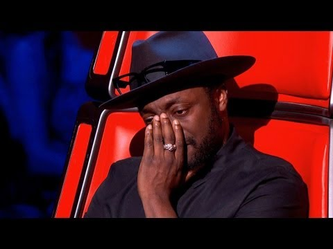 Will i am and fellow judges moved to tears by emotional