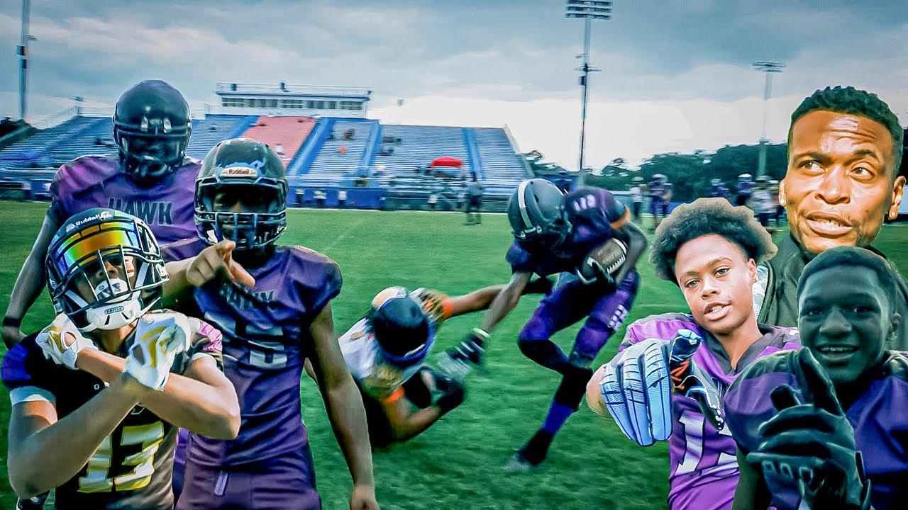 ELITE KIDS & COACH TANK🔥🔥 2021 Spring AAU National Champions👑 14U Youth Football Highlights