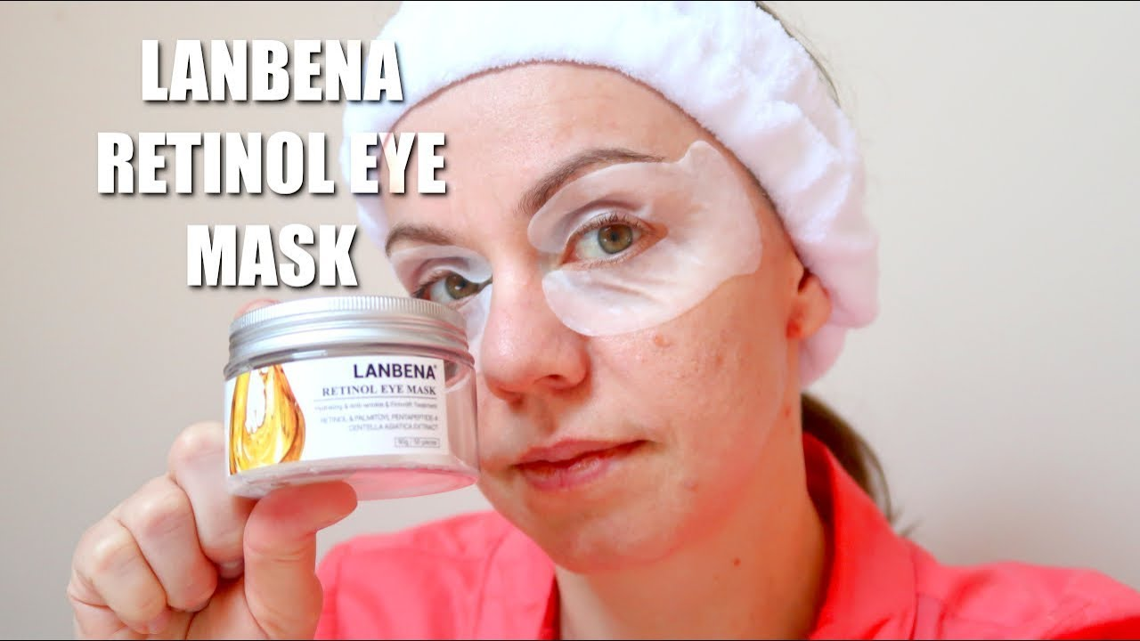 ALIEXPRESS OPENBOX | Lanbena Retinol Eye Mask