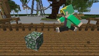 한칸 블록 술래잡기? ㄴㄴ 한칸블록 때려잡기!! (with 공룡, 수현, 잠뜰) - 마인크래프트 Minecraft