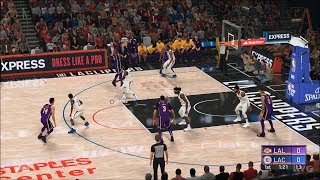 NBA 2K20 - Los Angeles Clippers vs Los Angeles Lakers - Gameplay (PS4 HD) [1080p60FPS]