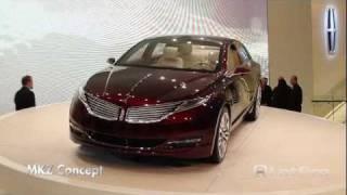 Lincoln MKZ Concept 2012 Videos