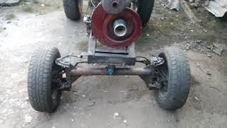 як зробити саморобний трактор з двигуном зід