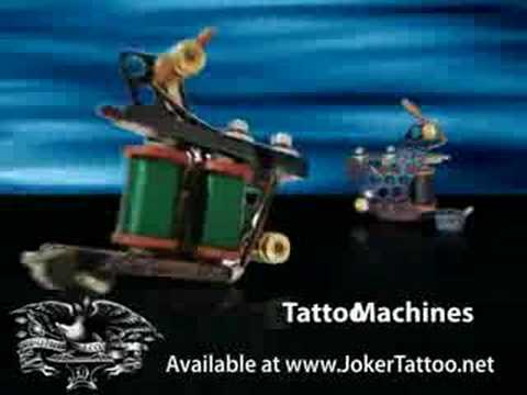 Tattoo Supplies - Joker Tattoo Supply - Pro Tattoo Supplies