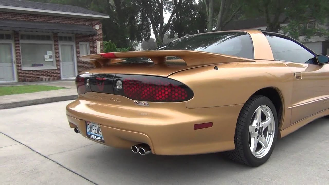 1998 trans am ws6 sport gold metallic 1 of 52 for sale or trade youtube. Black Bedroom Furniture Sets. Home Design Ideas