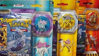 Opening All Three Pokemon Legendary Beasts 3 Pack Blisters- Entei,Raikou,and Suicune