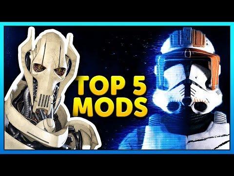 Top 5 Mods of the Week - Star Wars Battlefront 2 Mod Showcase #41