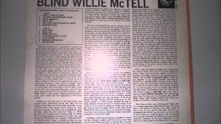 Blind Willie McTell- Last Session (Vinyl LP)