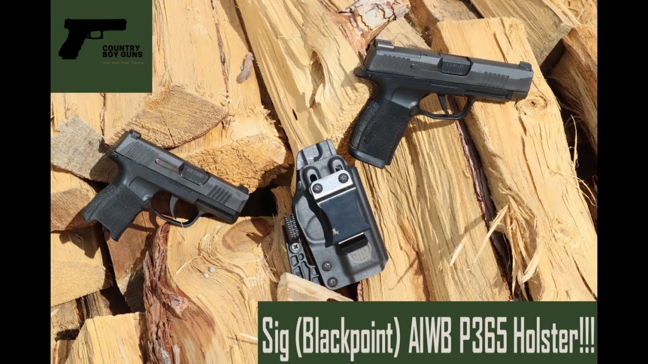 Sig (Blackpoint) P365 AIWB Holster Review