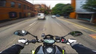 Yamaha MT07 Test Ride/Initial Review | Full Akrapovic Exhaust System!