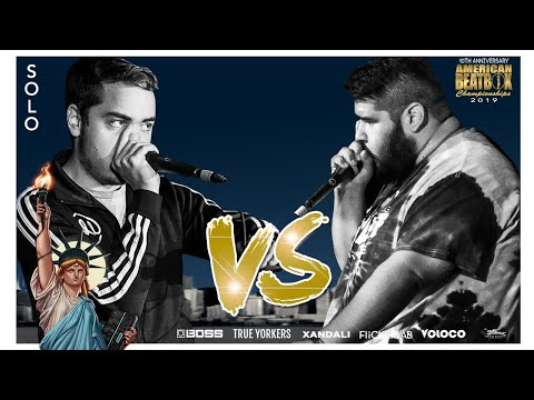 Audical Vs Fenetix | Solo Top 8 Battle | ABCX | American Beatbox Championships 2019