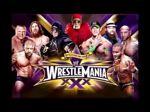 Wrestlemania XXX Music