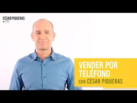 Vender por teléfono con César Piqueras