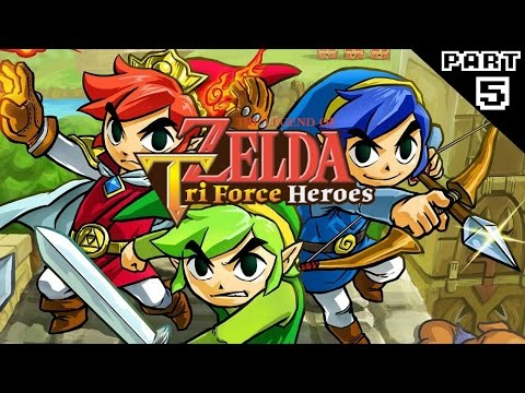 The Legend of Zelda: Tri Force Heroes Part 5 - The Yelling Episode