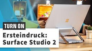 Surface Studio 2: Zocken, zeichnen, Videos schneiden – was geht?