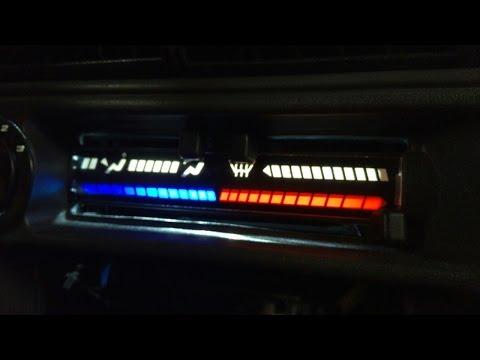 Подсветка печки 2114 ставим диодную ленту и как заменить лампочки - Видео приколы ржачные до слез