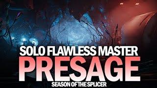 Solo Flawless Master Presage in Season of the Splicer [Destiny 2]