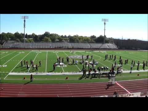 Northglenn High School at the 2015 Legacy Marching Festival