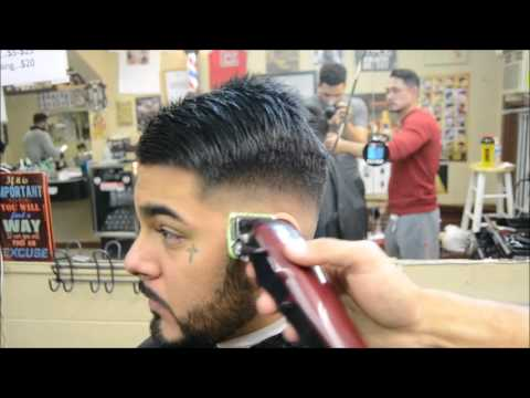 BALD COMB-OVER FADE WITH PART!!! BY ANTHONY THE BARBER!