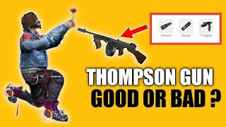 How to use Thompson Gun in Free Fire ?
