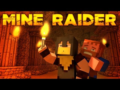 Minecraft ★ MINE RAIDER (Dumb and Dumber)