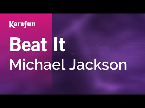 Karaoke Beat It - Michael Jackson *