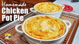 Chicken Pot Pie Recipe | Chicken Pie Recipe