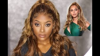 BEYONCE INSPIRED LOOK | Hair & Makeup ft RPGHair.com | PETITE-SUE DIVINITII