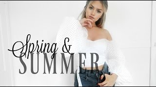 Spring/Summer Swimwear, Clothing Haul & Physique Update
