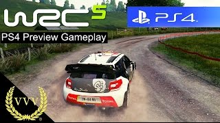 wRC 5 PS4 Gameplay Preview