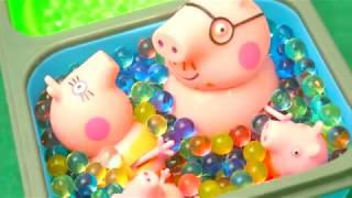 Мультфильм игрушками Свинка Пеппа Свинка Pig Подборка серий Сборник