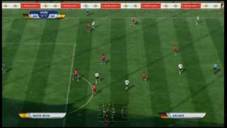 Allemagne - Espagne Coupe du Monde FIFA 2010 Partie 2