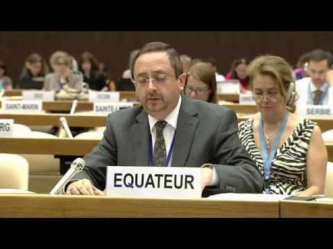 22 06 2017 Opening Session ECOSOC Humanitarian Affairs Segment 2017 Group 77 + China